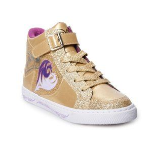 New D-Signed Gold High Top Shoes Sneakers Girls 2
